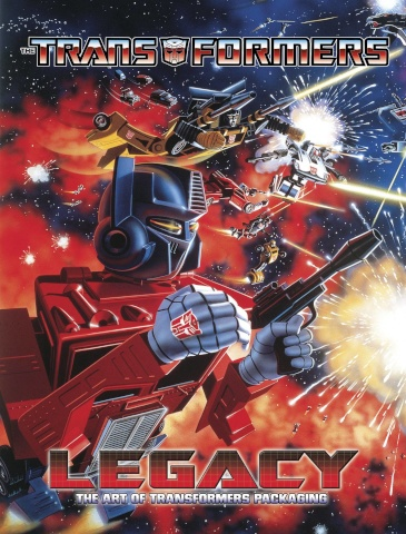 The Transformers: Legacy - A Celebration of Package Art