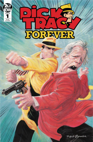 Dick Tracy Forever #1 (25 Copy Baker Cover)