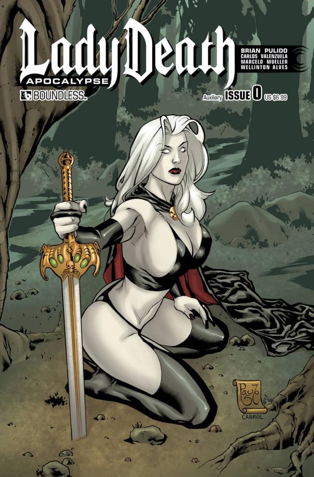 Lady Death: Apocalypse #0 (Auxiliary Cover)