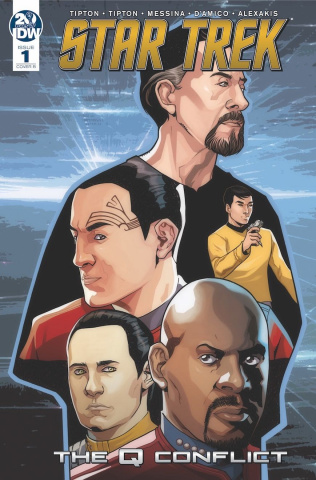 Star Trek: The Q Conflict #1 (Messina Cover)