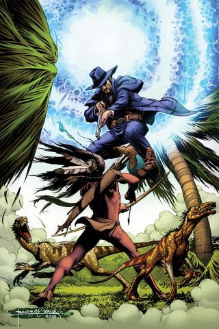 Turok #4 (30 Copy Morales Virgin Cover)