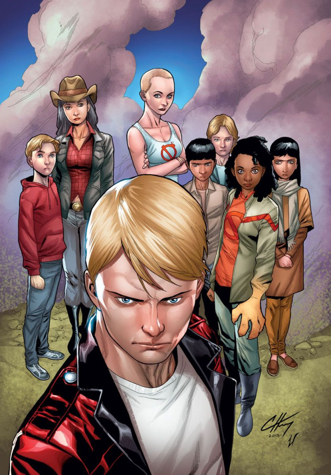 Generation Zero #1 (40 Copy Henry Cover)