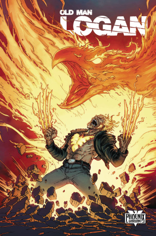 Old Man Logan #32 (Burnham Phoenix Cover)