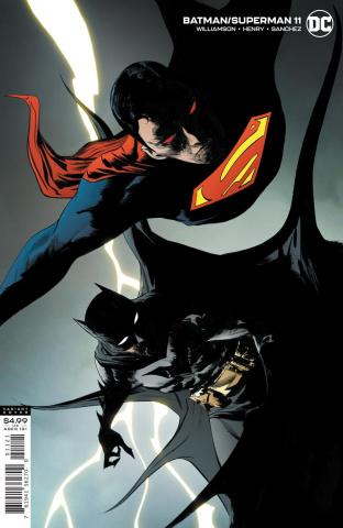Batman / Superman #11 (Jae Lee Card Stock Cover)