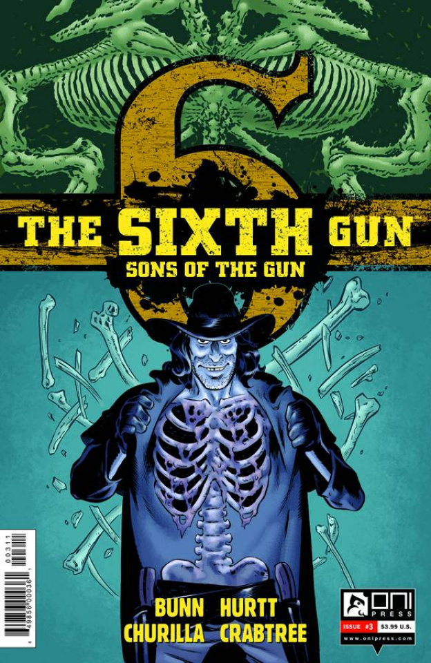 The Sixth Gun: Sons of the Gun #3