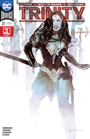 Trinity #21 (Variant Cover)