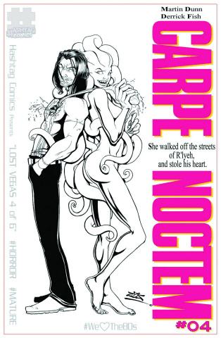 Carpe Noctem #4 (10 Copy '80s B&W Cover)