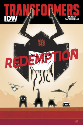 The Transformers: Redemption (Subscription Cover)