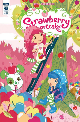 Strawberry Shortcake #6 (Scented Cover)