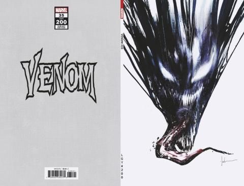 Venom #35 (Jock Virgin 200th Issue Cover)
