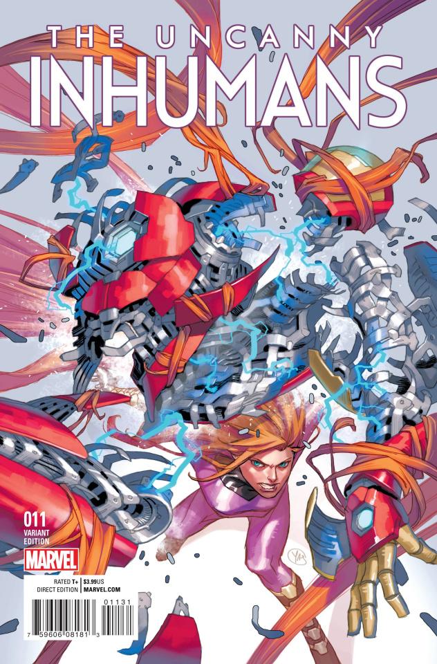 The Uncanny Inhumans #11 (Putri Cover)