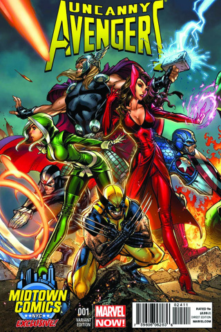 Uncanny Avengers #1 (Midtown Edition)