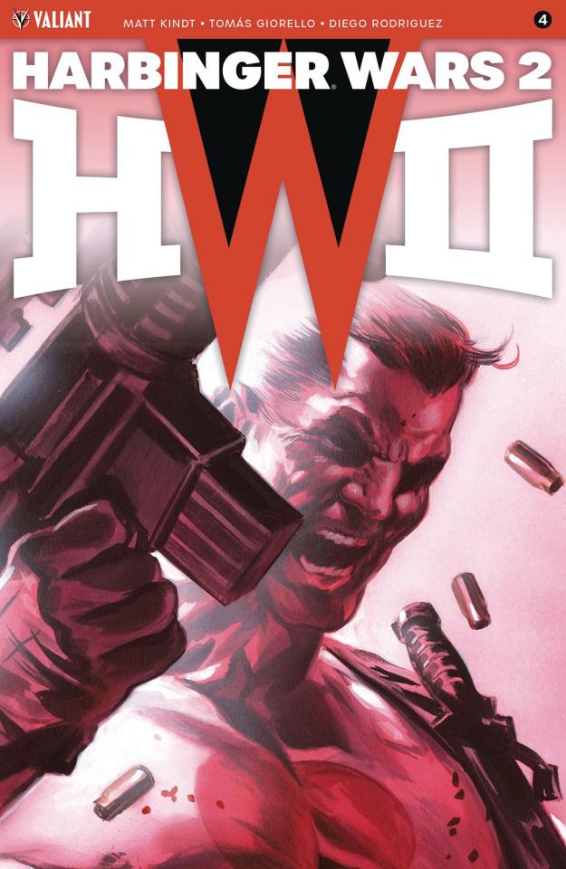 Harbinger Wars 2 #4 (50 Copy Icon Massafera Cover)