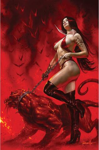 Vengeance of Vampirella #22 (Parrillo Virgin Cover)