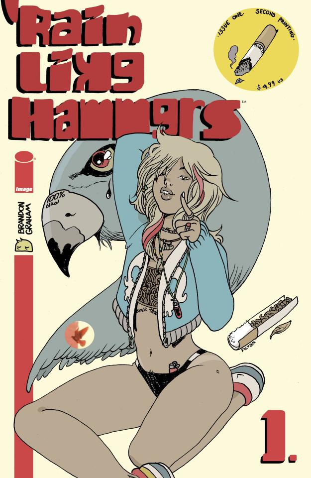 Rain Like Hammers #1 (2nd Printing)
