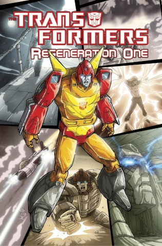 The Transformers: Regeneration One Vol. 4