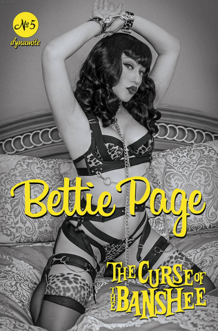 Bettie Page and The Curse of the Banshee #5 (15 Copy Cosplay Cover)
