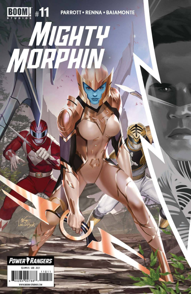 Mighty Morphin #11 (Lee Cover)