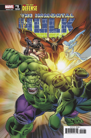 The Defenders: The Immortal Hulk #1 (Bennett Cover)