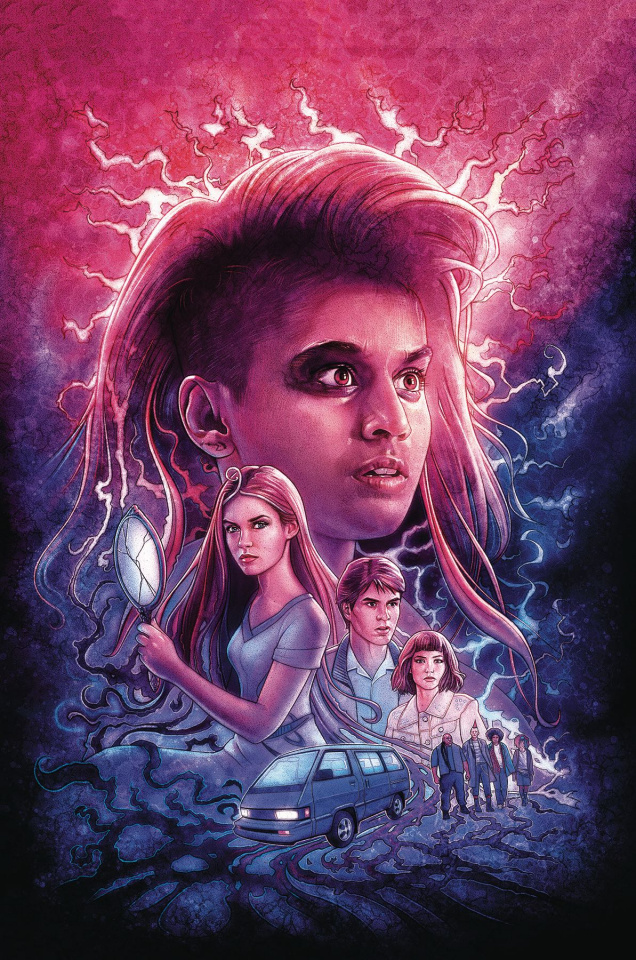 Stranger Things: Into the Fire #1 (Lambert Cover)