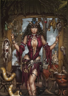 Grimm Fairy Tales: Day of the Dead #4 (Krome Cover)
