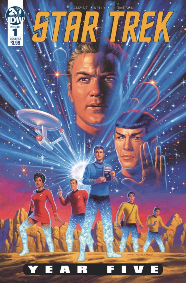 Star Trek: Year Five #1 (Hildabrandt Cover)
