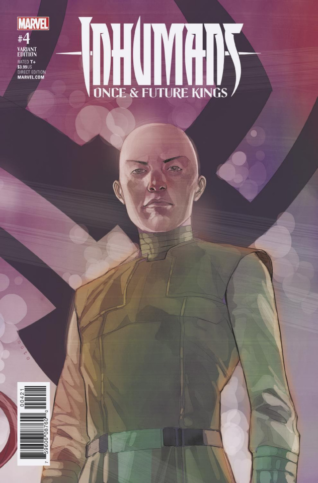 Inhumans: Once & Future Kings #4 (Noto Character Cover)