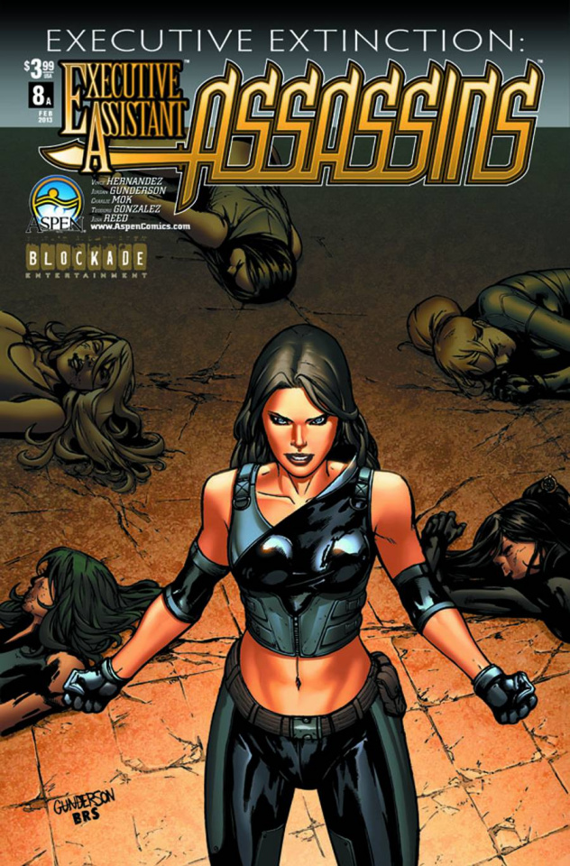 Executive Assistant: Assassins #8 (Gunderson Cover)