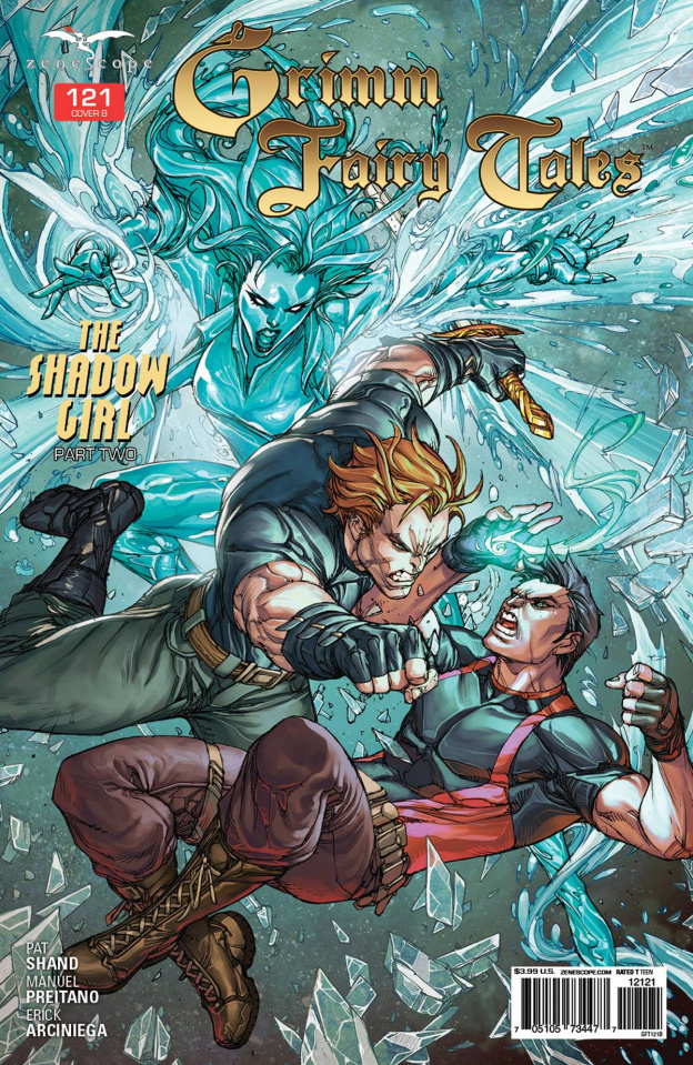 Grimm Fairy Tales #121 (Pantalena Cover)
