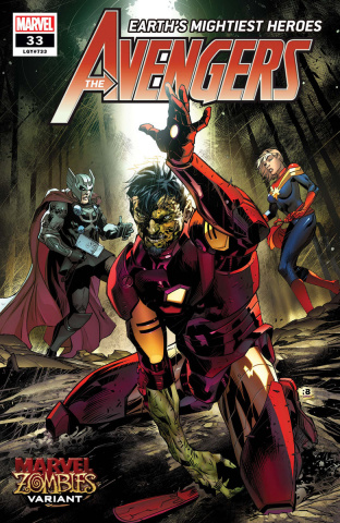 Avengers #33 (Benjamin Marvel Zombies Cover)