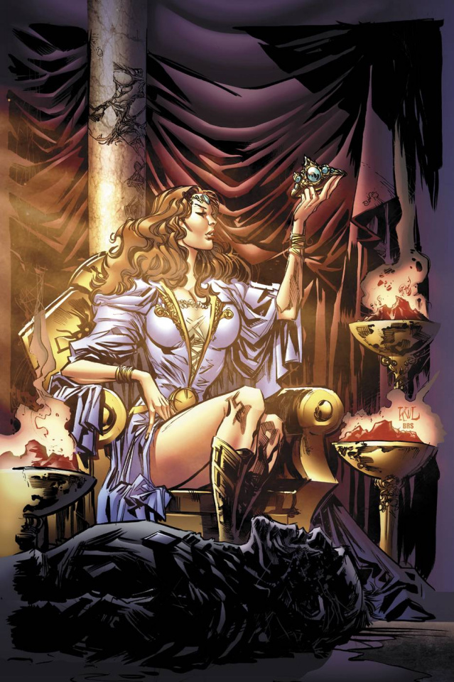 Grimm Fairy Tales: Oz - Reign of the Witch Queen #2 (Lashley Cover)