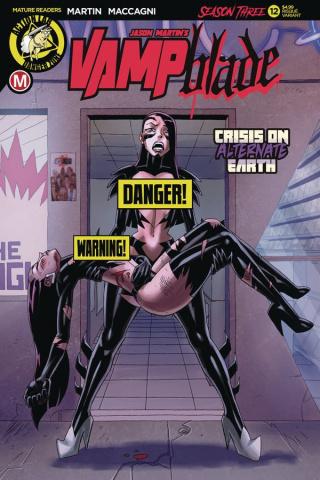 Vampblade, Season Three #12 (Young Risque Cover)