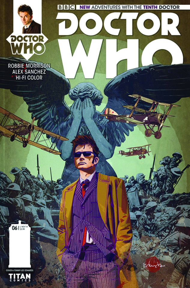 Doctor Who: New Adventures with the Tenth Doctor #6 (Edwards Cover)