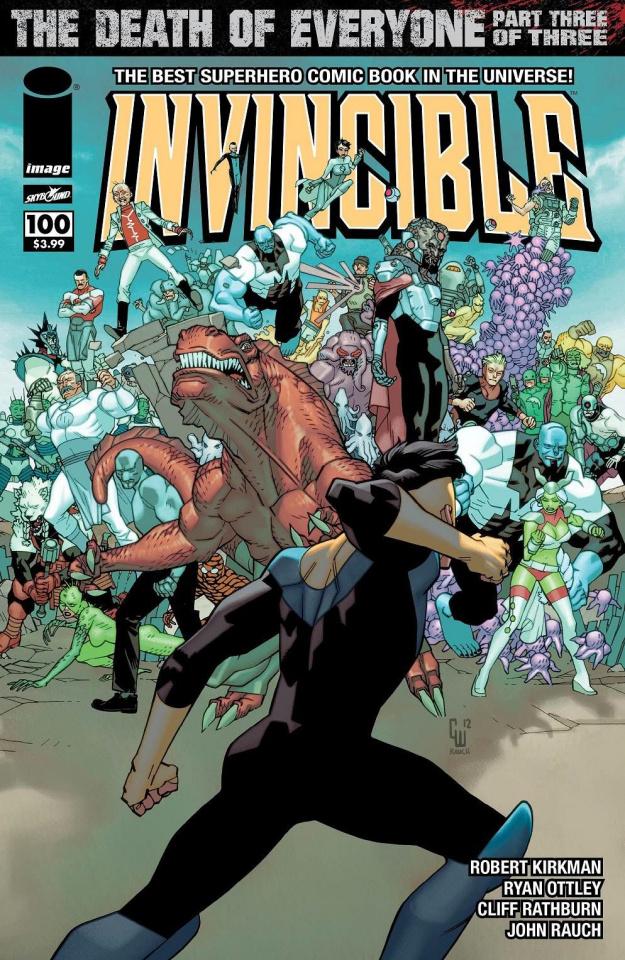Invincible #100 (Walker Cover)