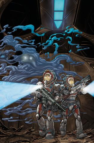 StarCraft: Scavengers #1 (Guzman Cover)
