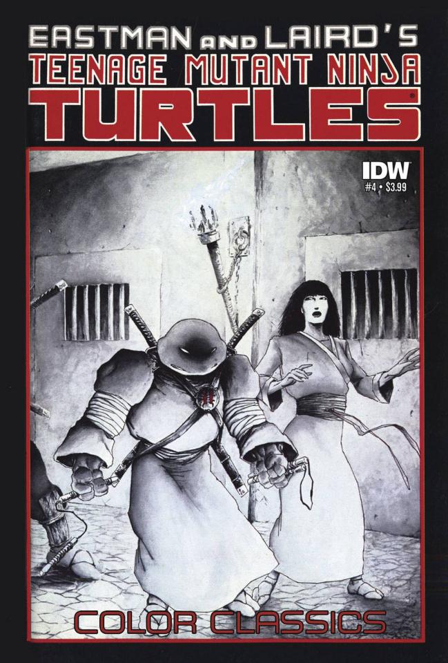 Teenage Mutant Ninja Turtles: Color Classics #4