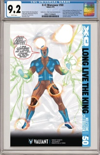 X-O Manowar #50 (CGC Replica Perez Cover)