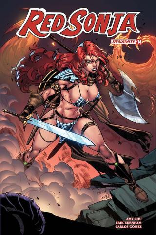 Red Sonja #14 (Gomez Cover)