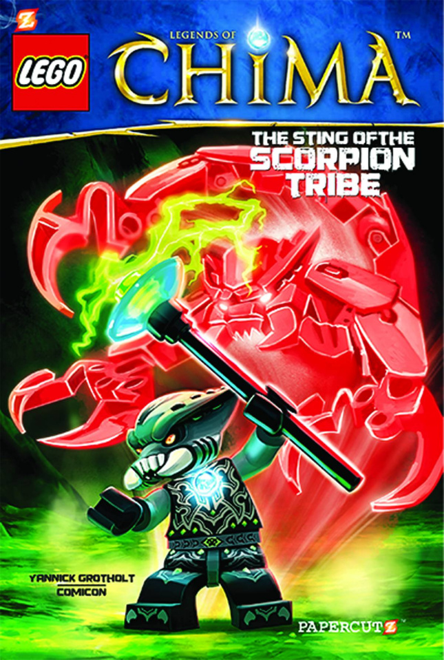 Lego: Legends of Chima Vol. 4: Fire Chi