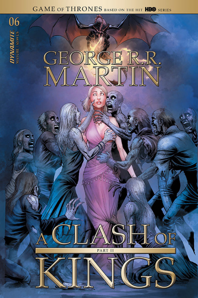 A Clash of Kings #6 (Miller Cover)