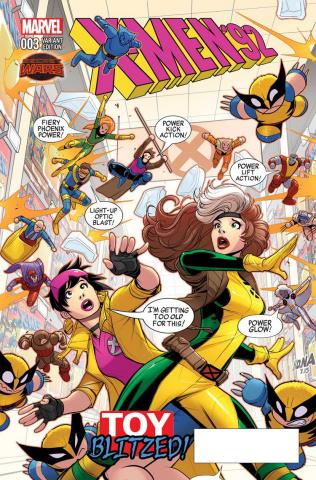 X-Men '92 #3 (Nakayama Cover)