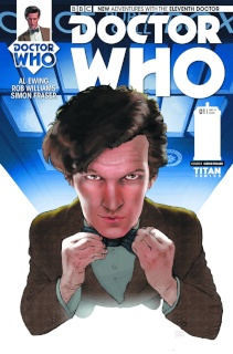 Doctor Who: New Adventures with the Eleventh Doctor #1 (Fraser Cover)