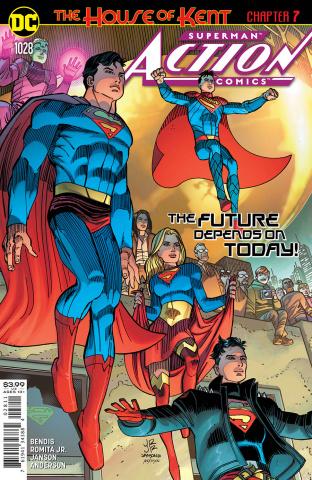 Action Comics #1028 (John Romita Jr & Klaus Janson Cover)