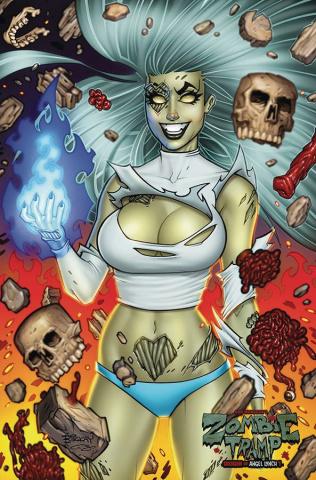 Zombie Tramp #57 (McKay Virgin Cover)