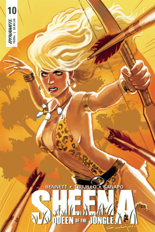 Sheena #10 (Galindo Cover)