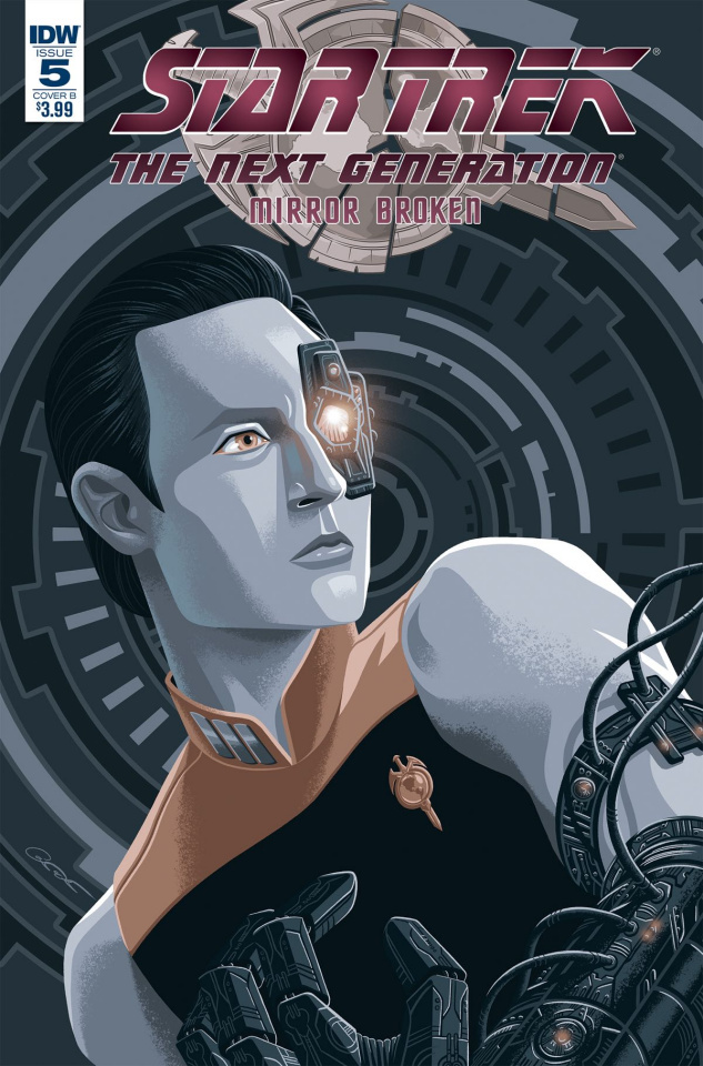 Star Trek: The Next Generation - Mirror Broken #5 (Woodward Cover)