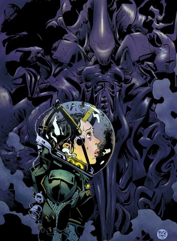 Prometheus: Fire and Stone #1 (Pope Cover)