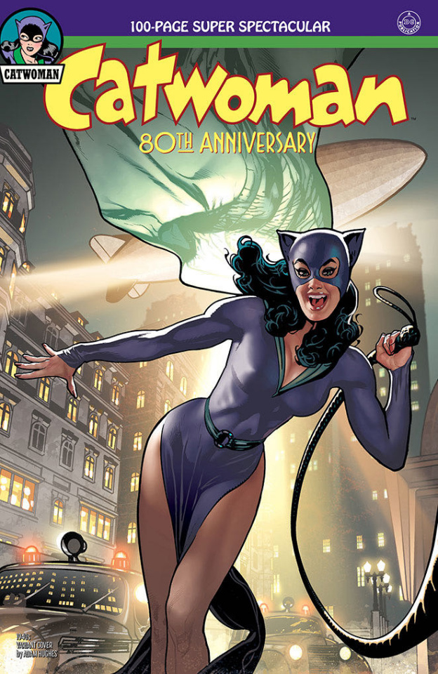 Catwoman 80th Anniversary 100 Page Super Spectacular #1 (1940s Adam Hughes Cover)