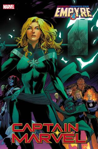 Captain Marvel #18 (Mora Empyre Cover)