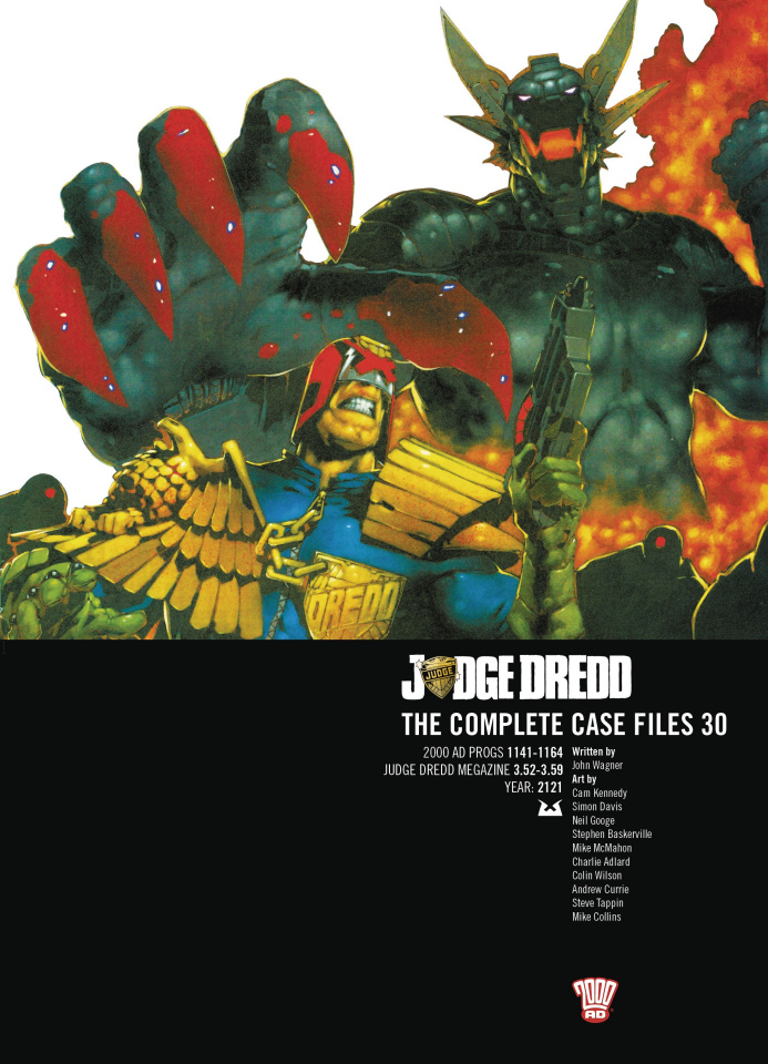 Judge Dredd: The Complete Case Files Vol. 30